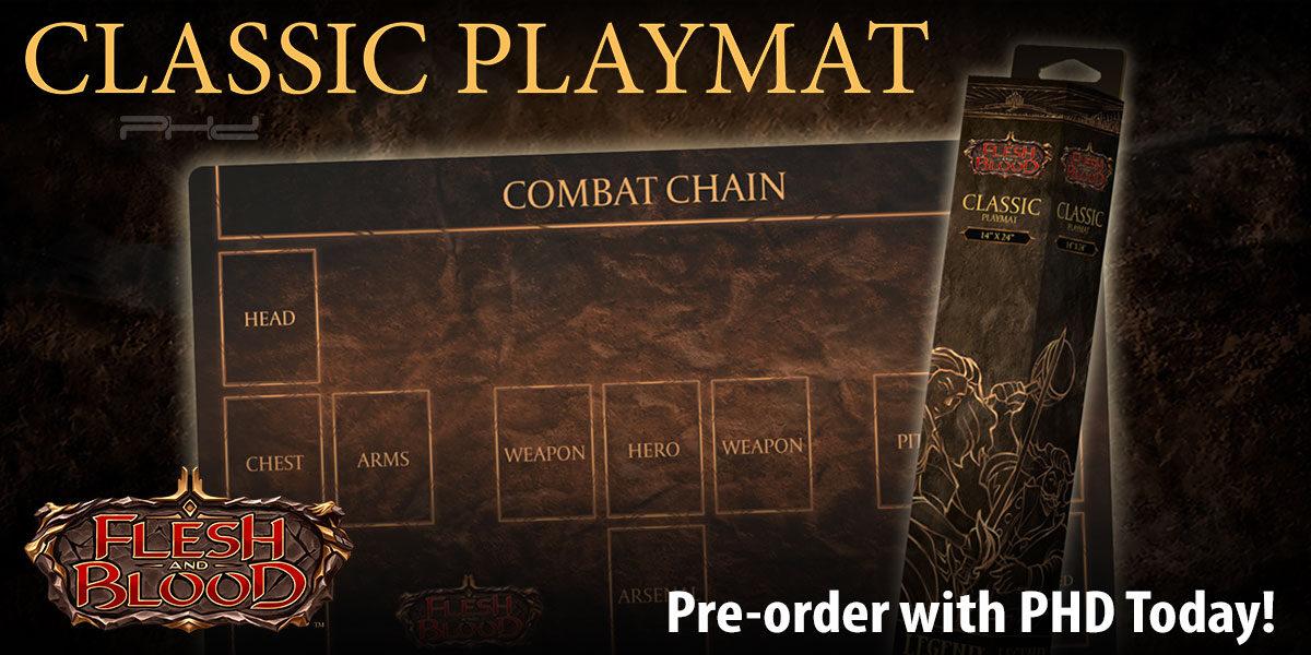 Flesh and Blood Classic Playmat — Legend Story Studios