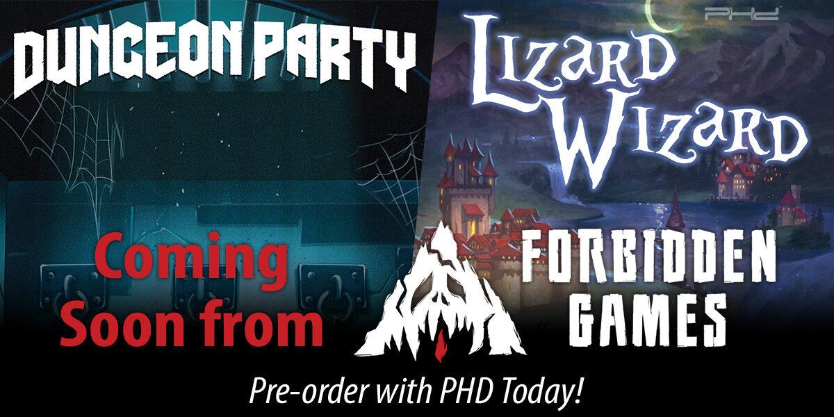 Dungeon Party & Lizard Wizard — Forbidden Games
