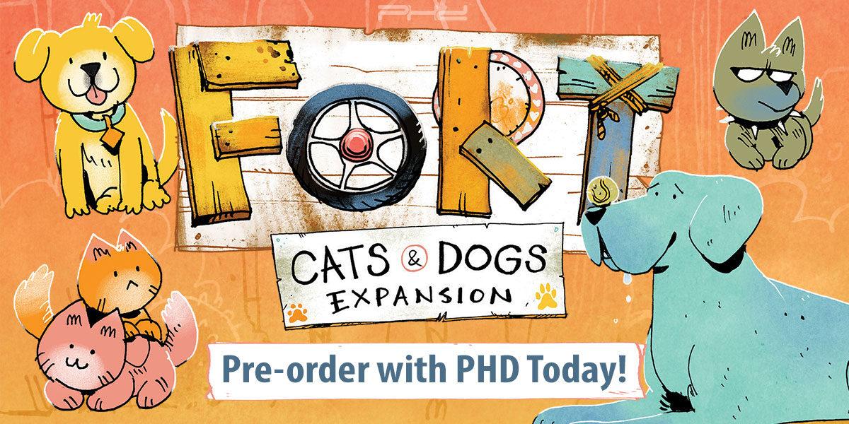 Fort: Cats & Dogs — Leder Games
