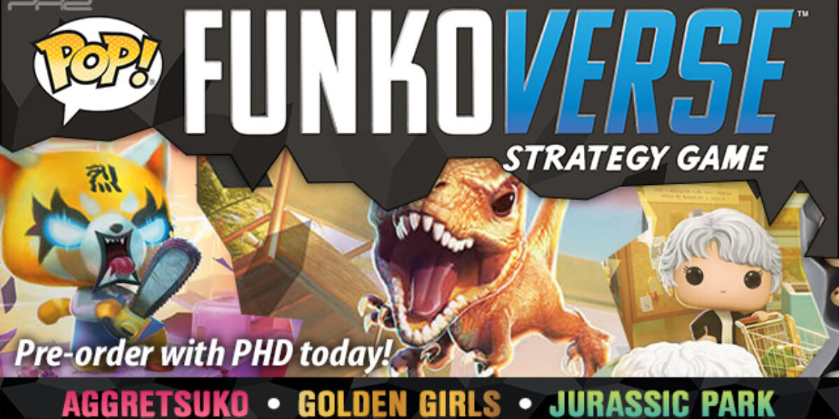 Funkoverse Strategy Game, Wave 2 — Funko