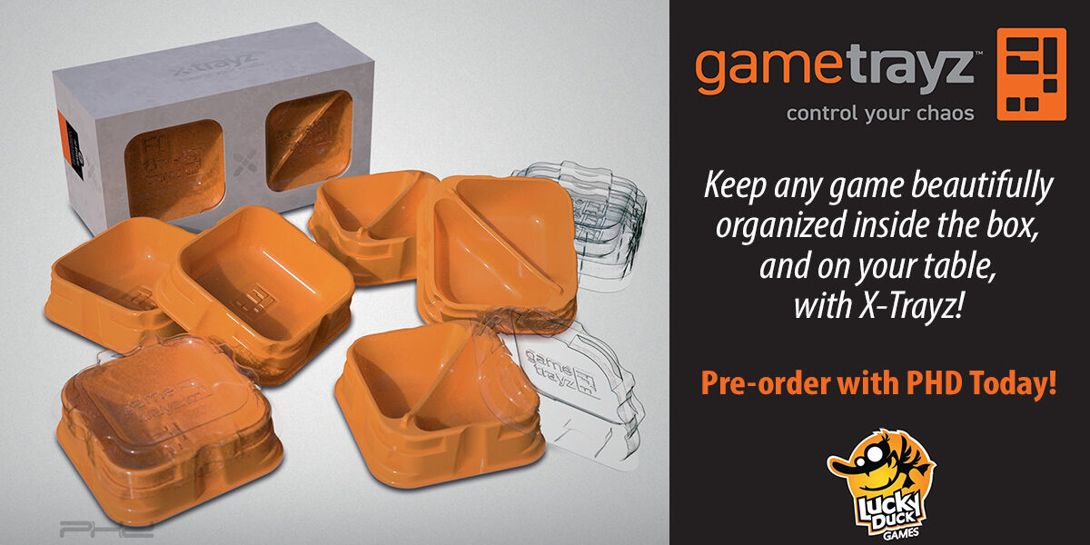 GameTrayz X-Trayz — Lucky Duck Games