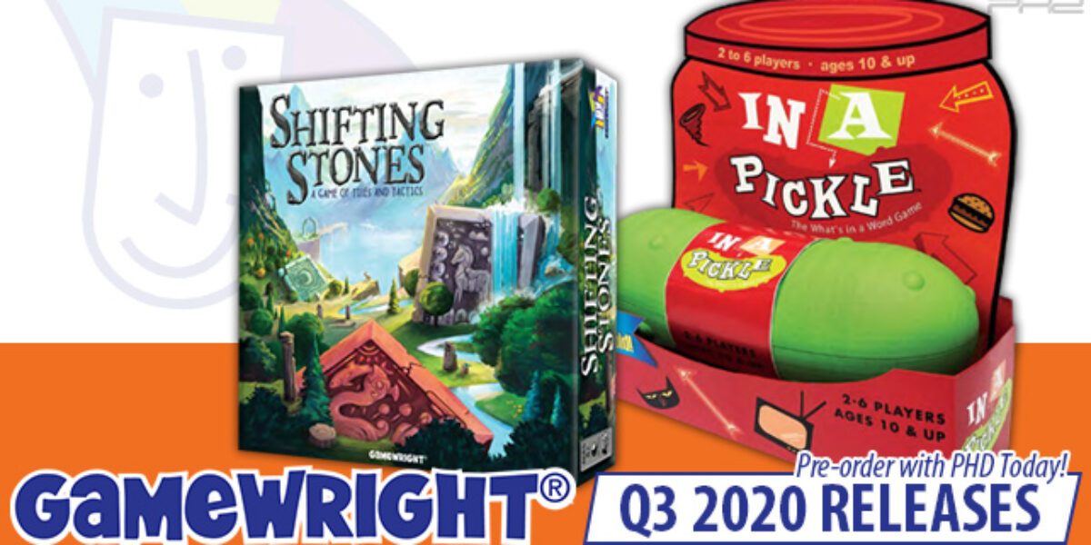 Shifting Stones & In a Pickle Deluxe — Gamewright