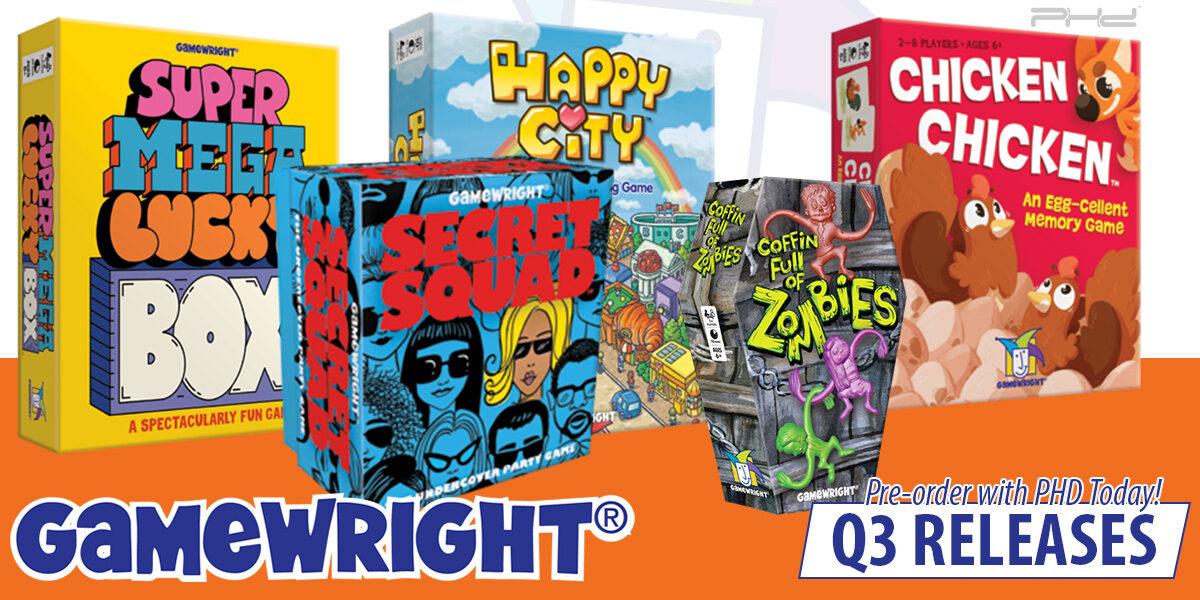 Super Mega Lucky Box, Hedgehog Roll, & More — Gamewright