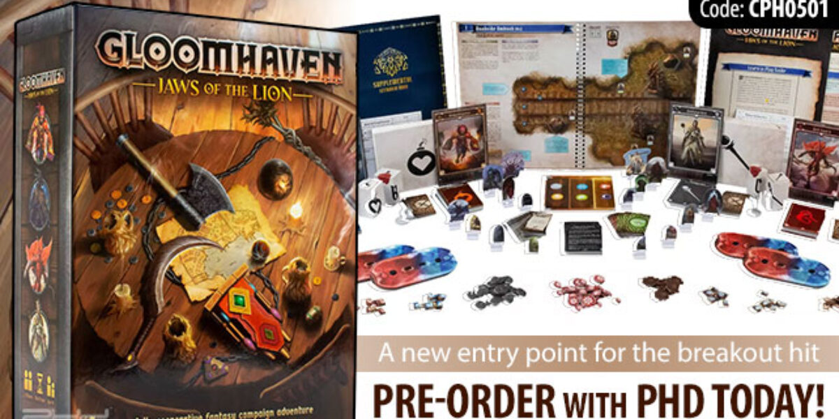 Gloomhaven: Jaws of the Lion — Cephalofair Games