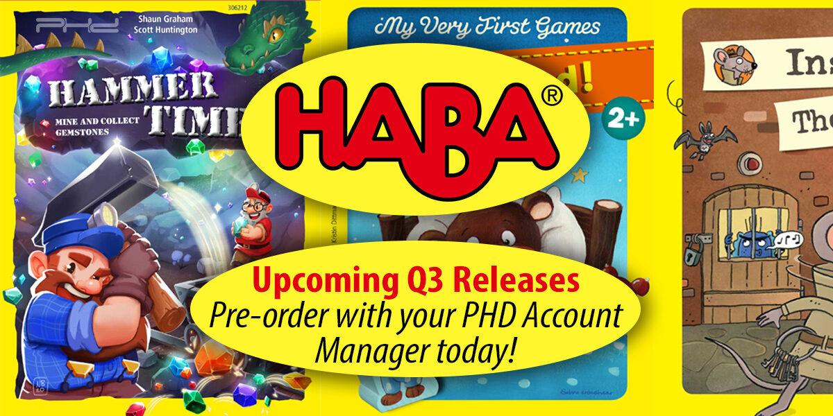 HABA Q3 Releases