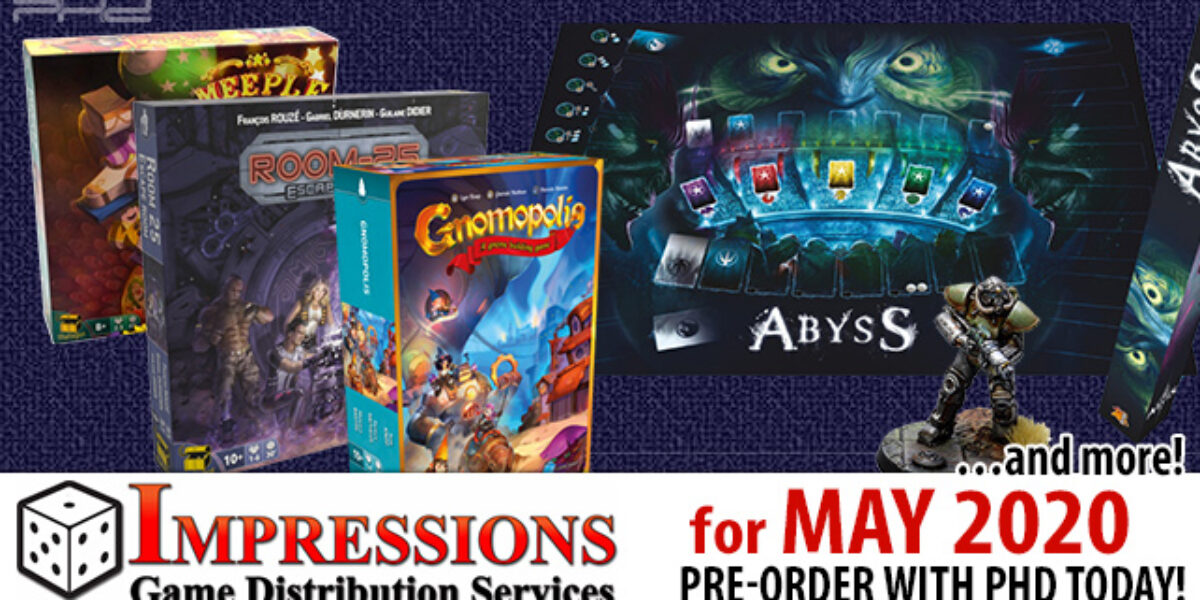 Impressions May 2020 Releases