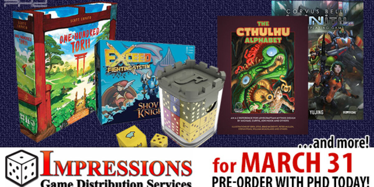 Impressions March 24 Releases