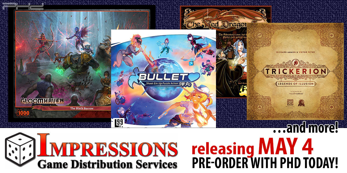 Impressions Releases for May 4