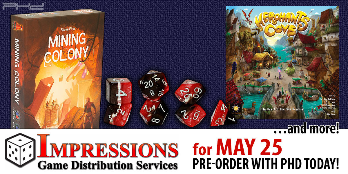 Impressions Releases for May 25