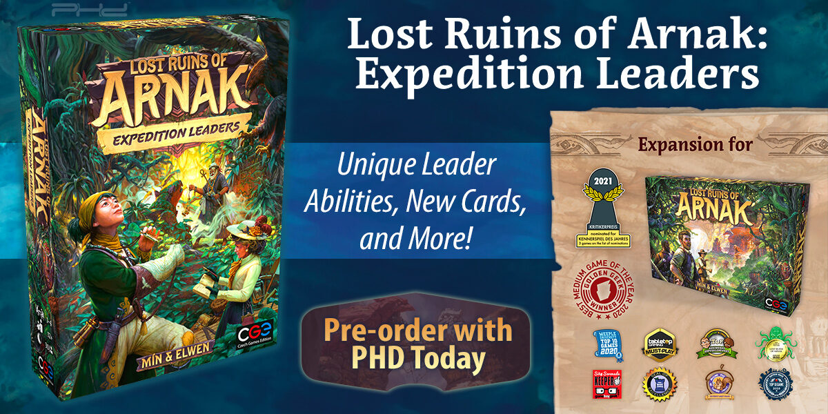 Lost Ruins of Arnak: Expedition Leaders — Czech Games Edition