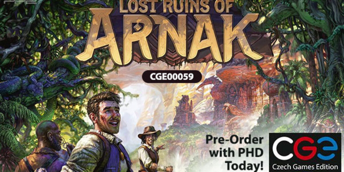Lost Ruins of Arnak — Czech Games Edition