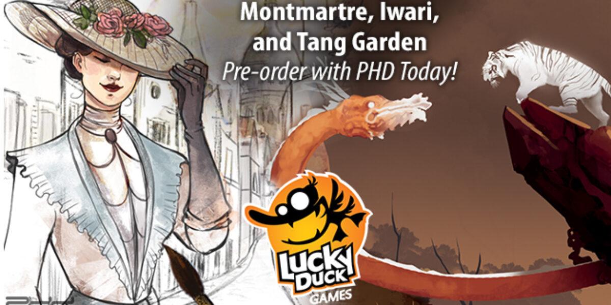 Montmartre, Tang Garden, Iwari — Lucky Ducky Games
