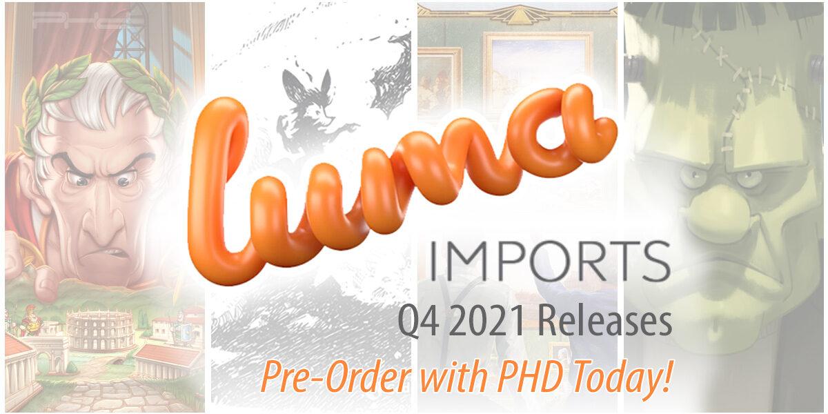 Luma Q4 2021 Releases