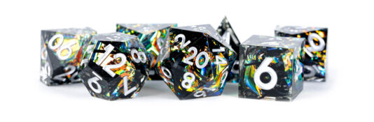 Simmering Coal dice