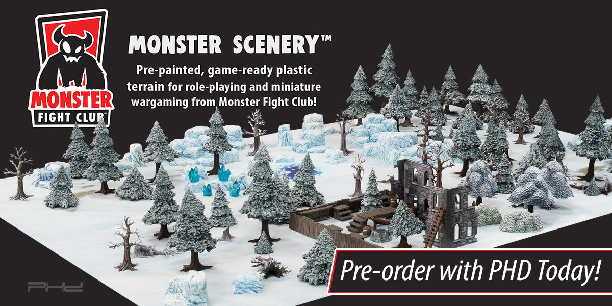 Monster Scenery: Ice Wilds — Monster Fight Club
