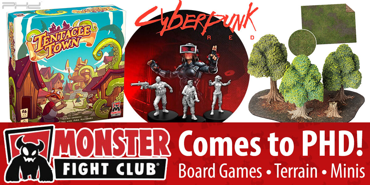 Monster Fight Club Comes to PHD!