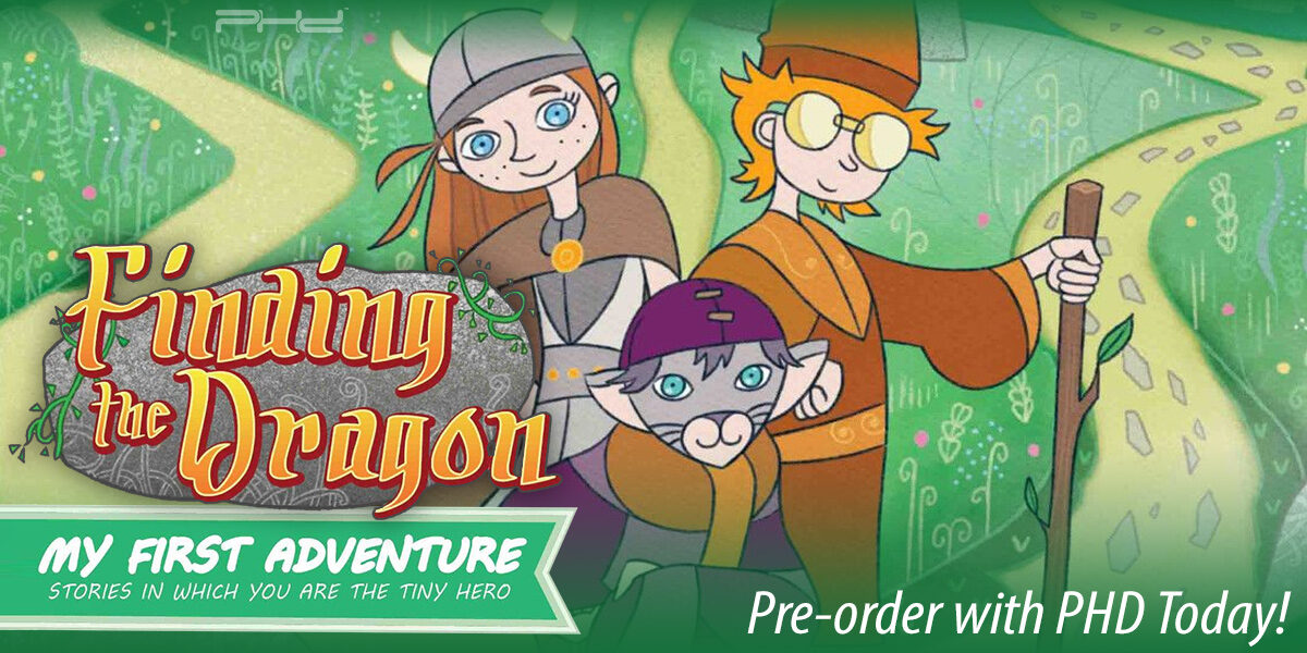 My First Adventure: Finding the Dragon — Playroom