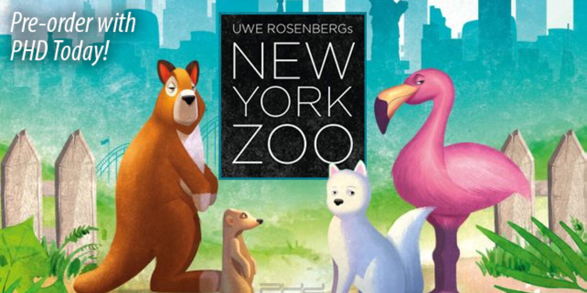New York Zoo — Capstone Games