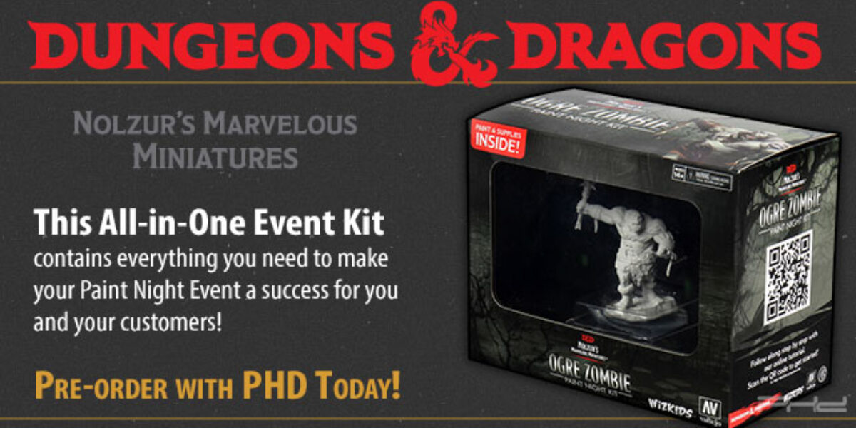 Ogre Zombie Paint Night Kit