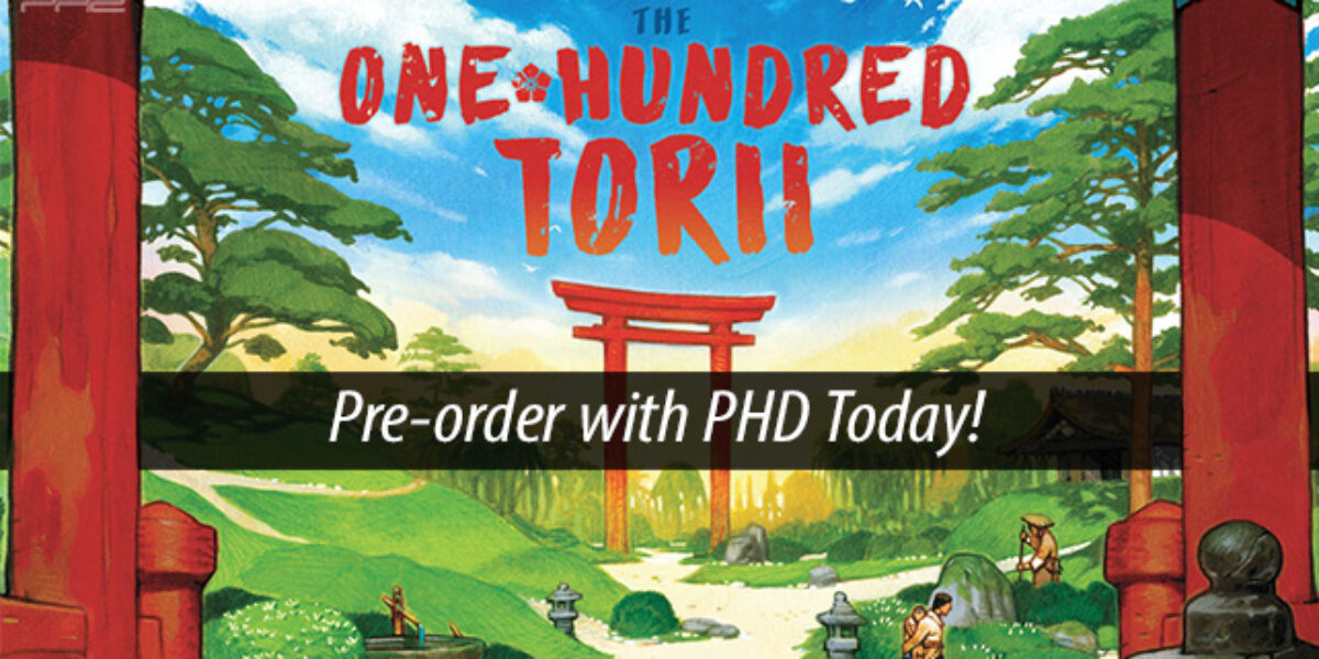The One Hundred Torii — Pencil First Games