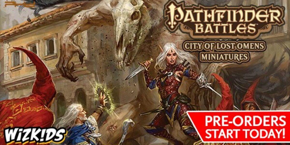 Pathfinder Battles: City Of Lost Omens – WizKids