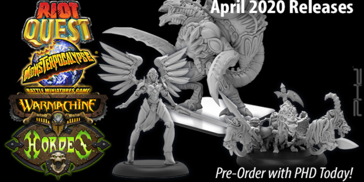 Privateer Press April 2020 Releases