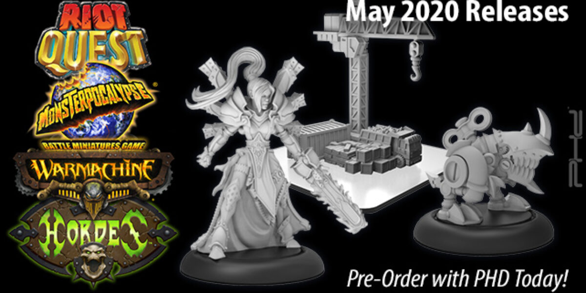 Privateer Press May 2020 Releases