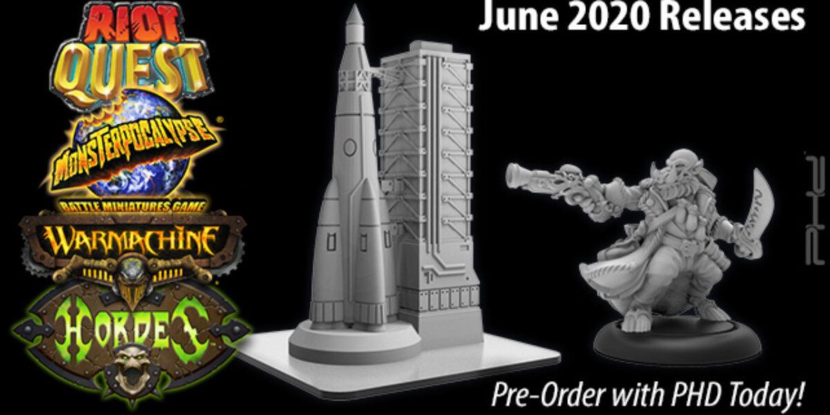 Privateer Press June 2020 Releases