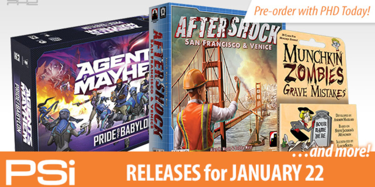 PSI January 22 Releases