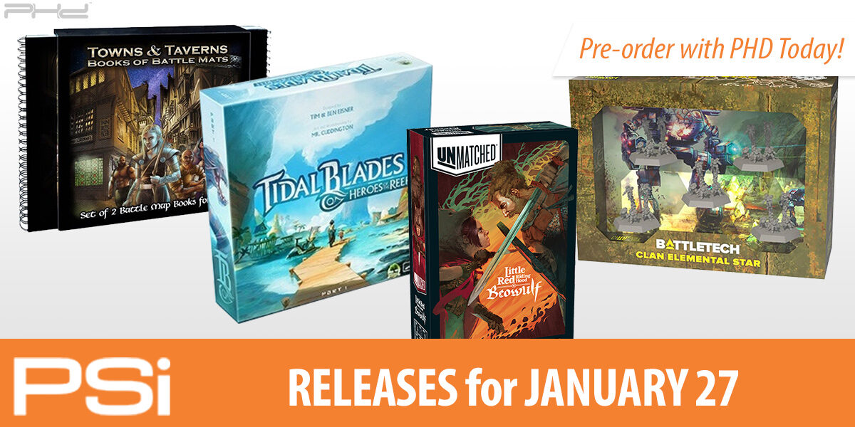 PSI January 27 Releases