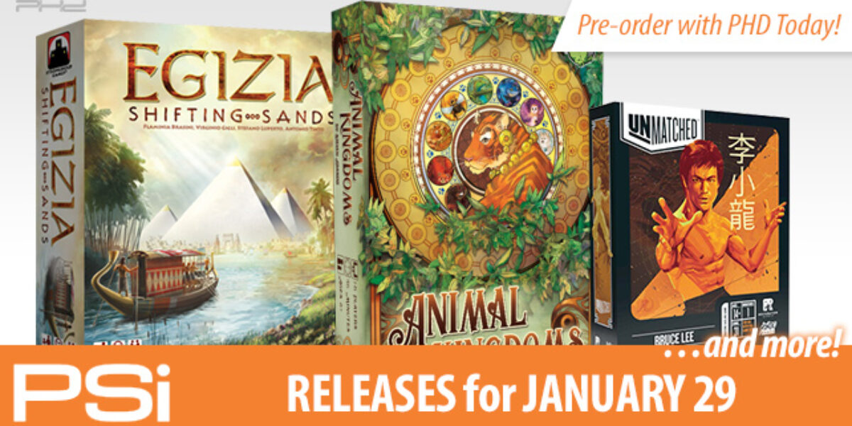 PSI January 29 Releases