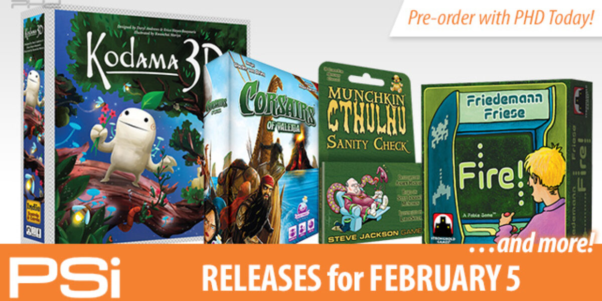 PSI February 5 Releases