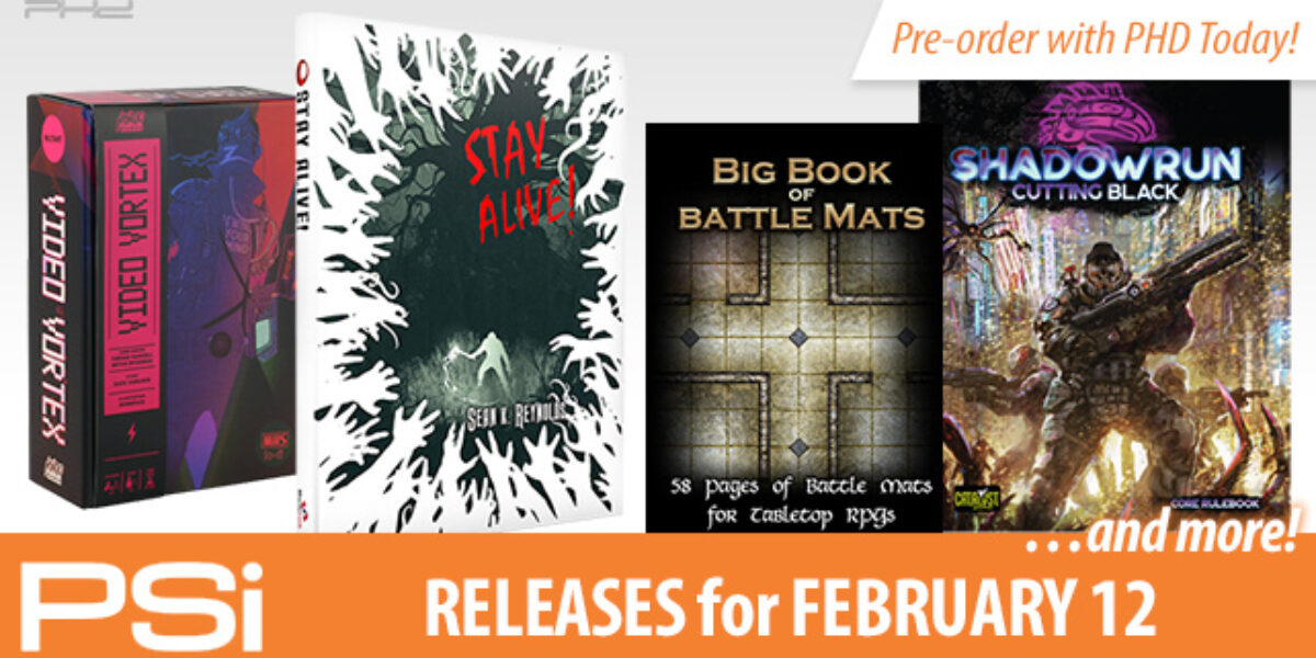 PSI February 12 Releases