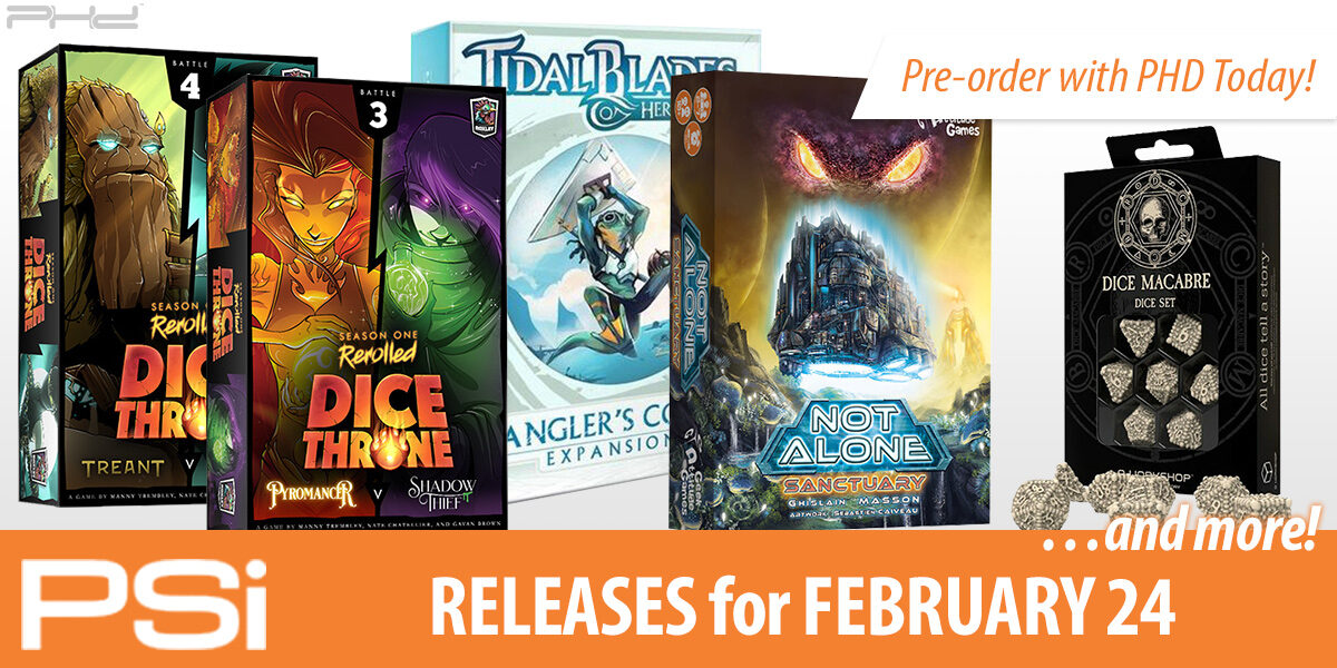 PSI February 28 Releases