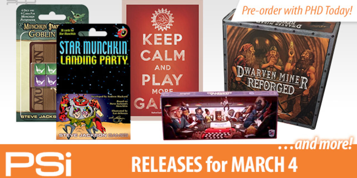 PSI March 4 Releases