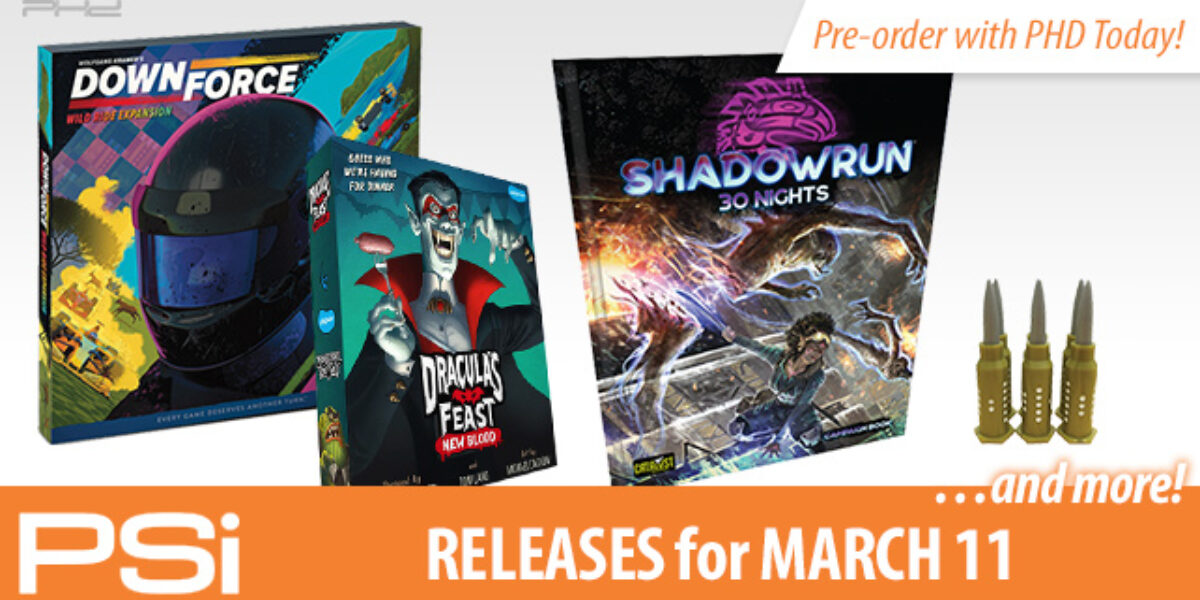 PSI March 11 Releases