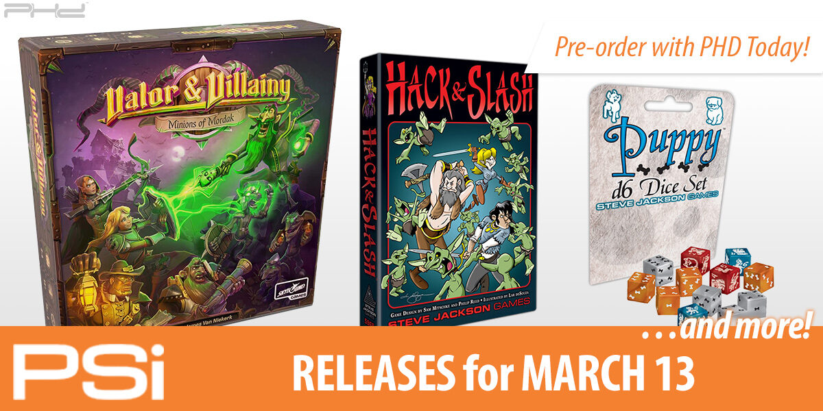 PSI March 13 Releases