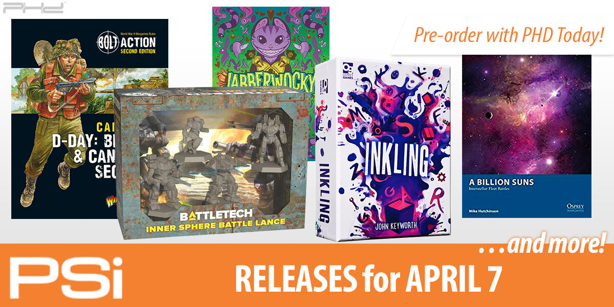 PSI April 7 Releases