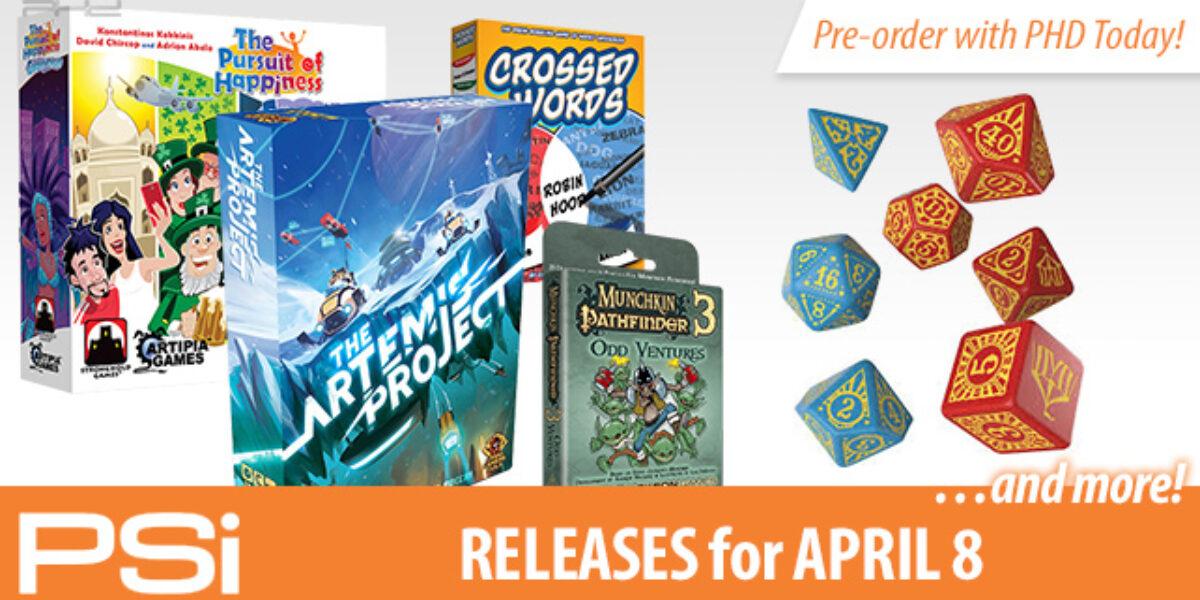 PSI April 8 Releases