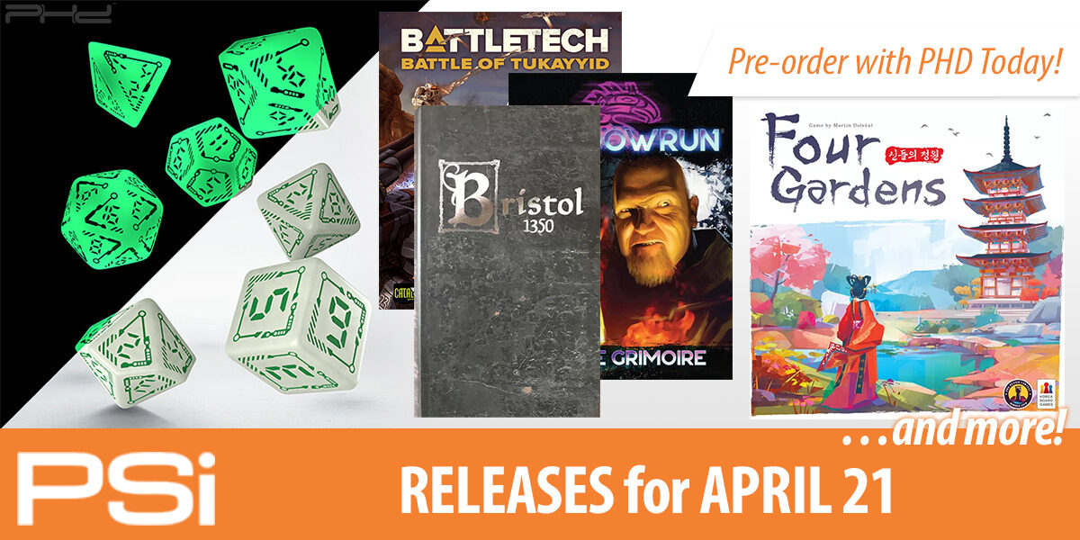 PSI April 21 Releases