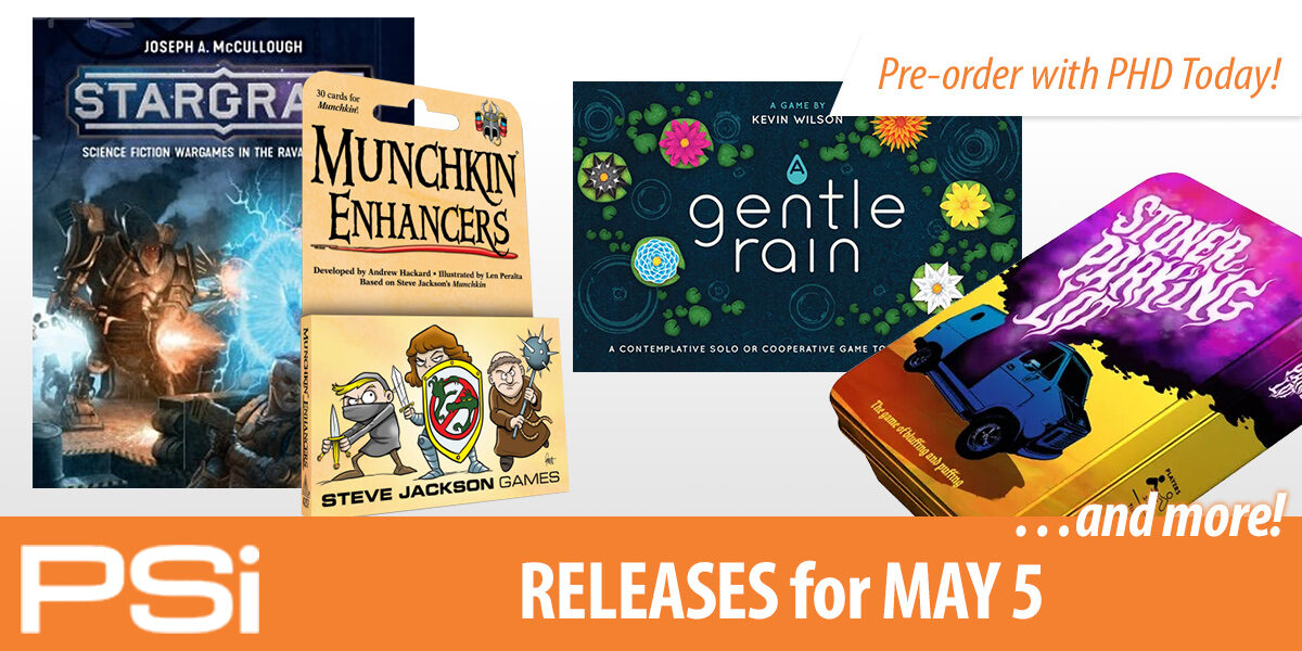 PSI May 5 Releases