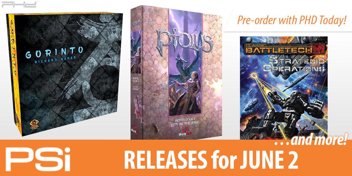 PSI June 2 Releases