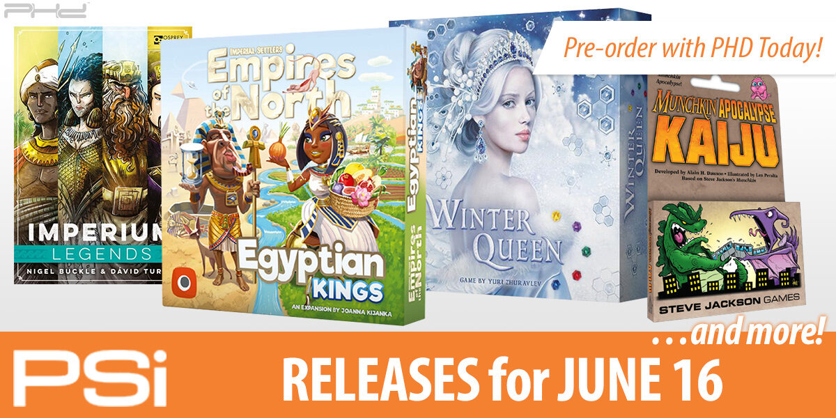 PSI June 16 Releases
