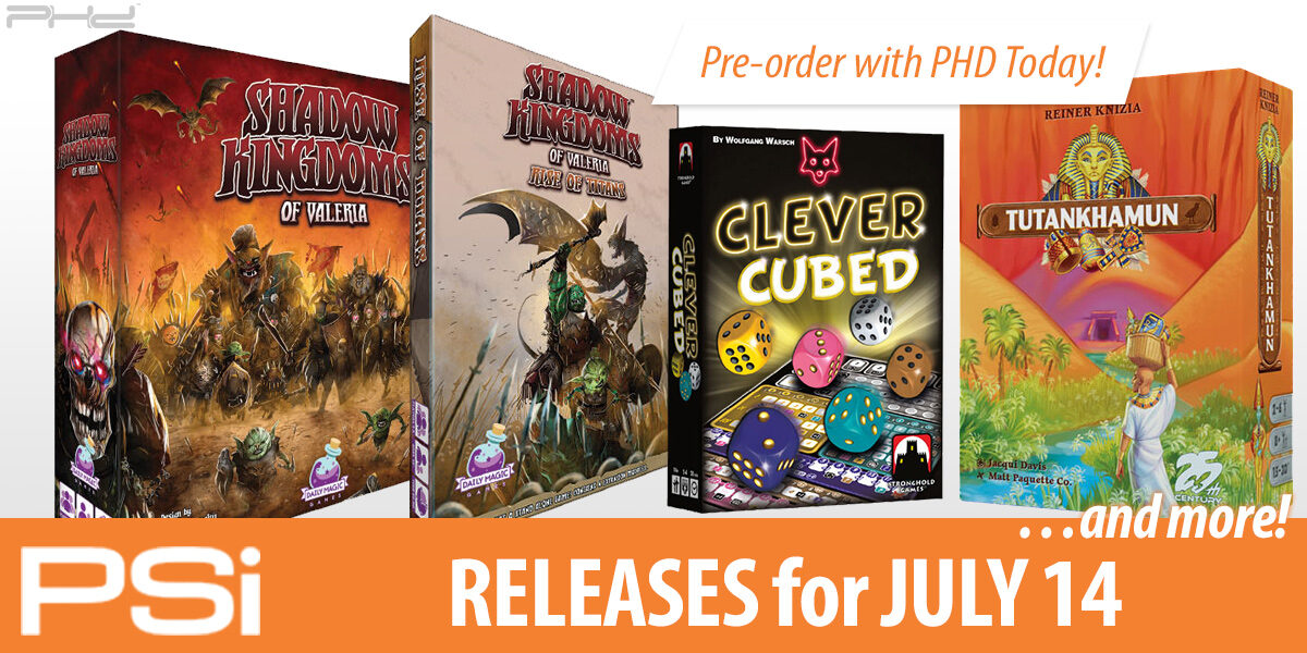 PSI July 14 Releases