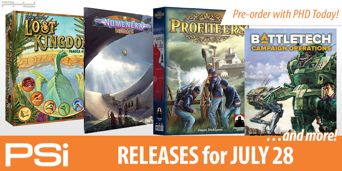 PSI July 28 Releases