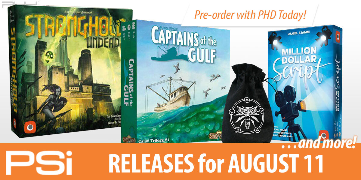 PSI August 11 Releases