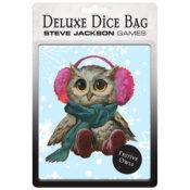 Festive Owl Deluxe Dice Bag