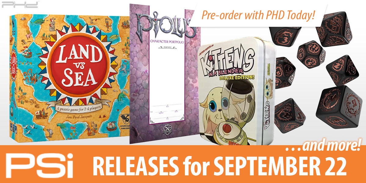 PSI September 22 Releases