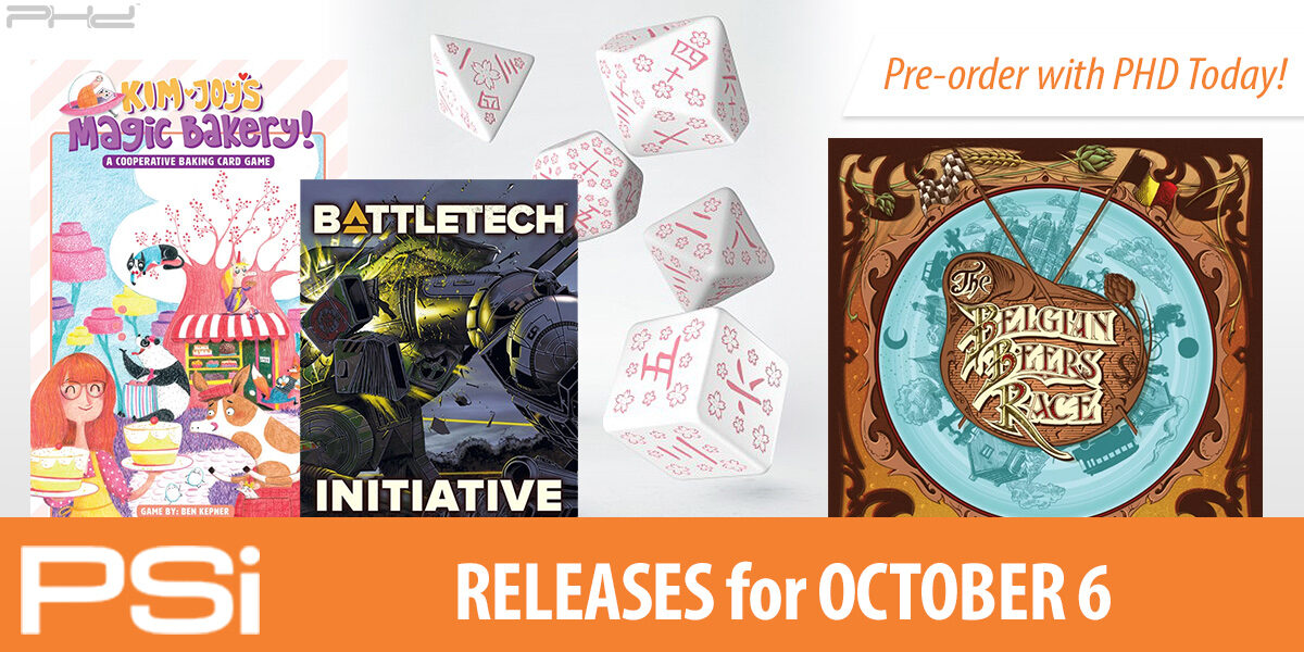 PSI October 6 Releases
