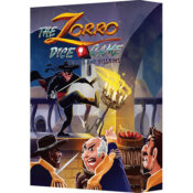 The Zorro Dice Game: Heroes and Villains box
